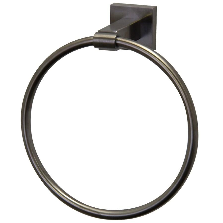 VIGO Allure Brushed Nickel Wall Mount Towel Ring