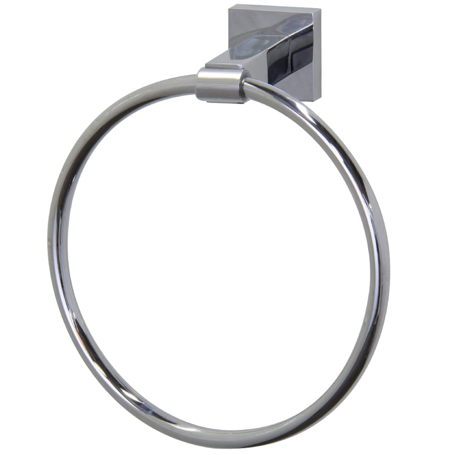 VIGO Allure Chrome Wall Mount Towel Ring