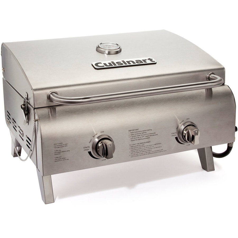 Shop Cuisinart 20,000-BTU 276-sq in Portable Gas Grill at ...