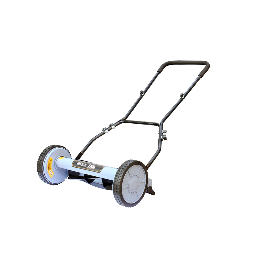 Blue Hawk 16-in Reel Lawn Mower