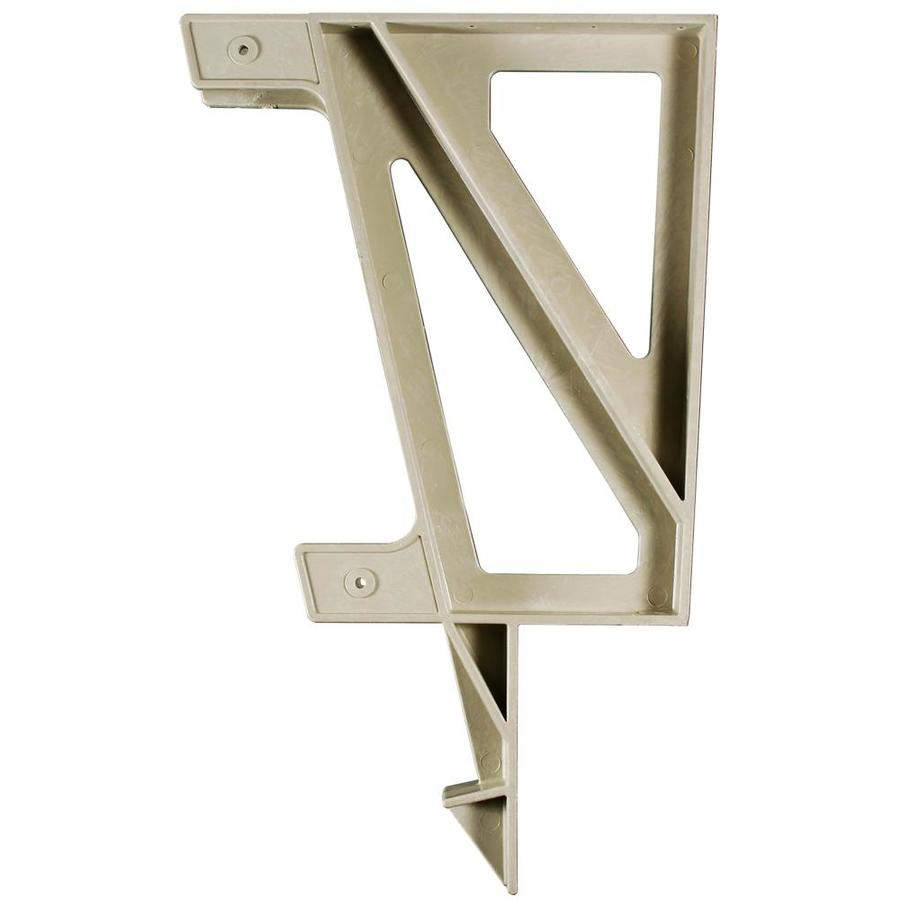 2x4basics Sand Polyresin Bench Brackets