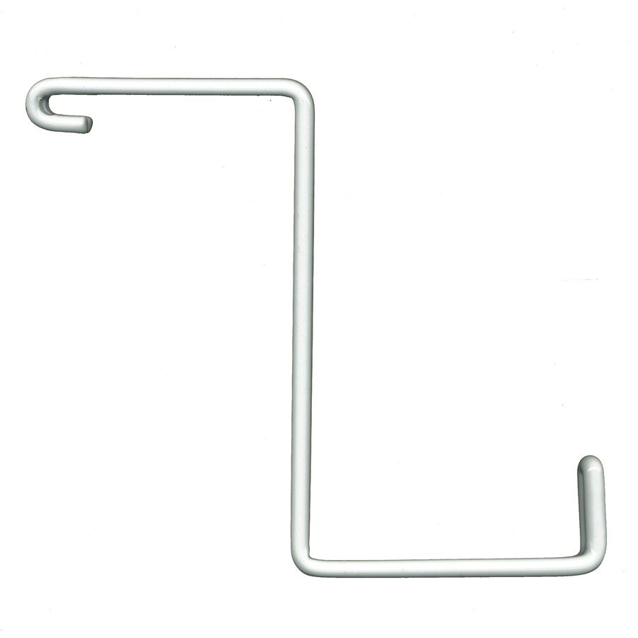 HyLoft Add-On 4-Pack 0.38-in White Steel Utility Hooks