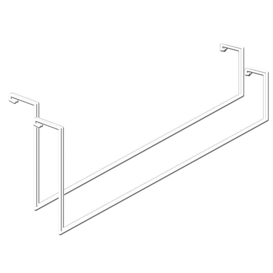 HyLoft Ladder 2-Pack 4.1-in White Steel Utility Hooks