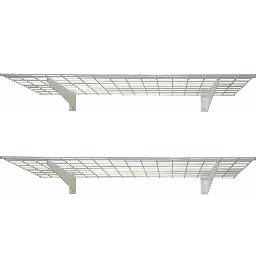 HyLoft 45-in W x 4.25-in H x 15-in D Steel Wall Mounted Shelving