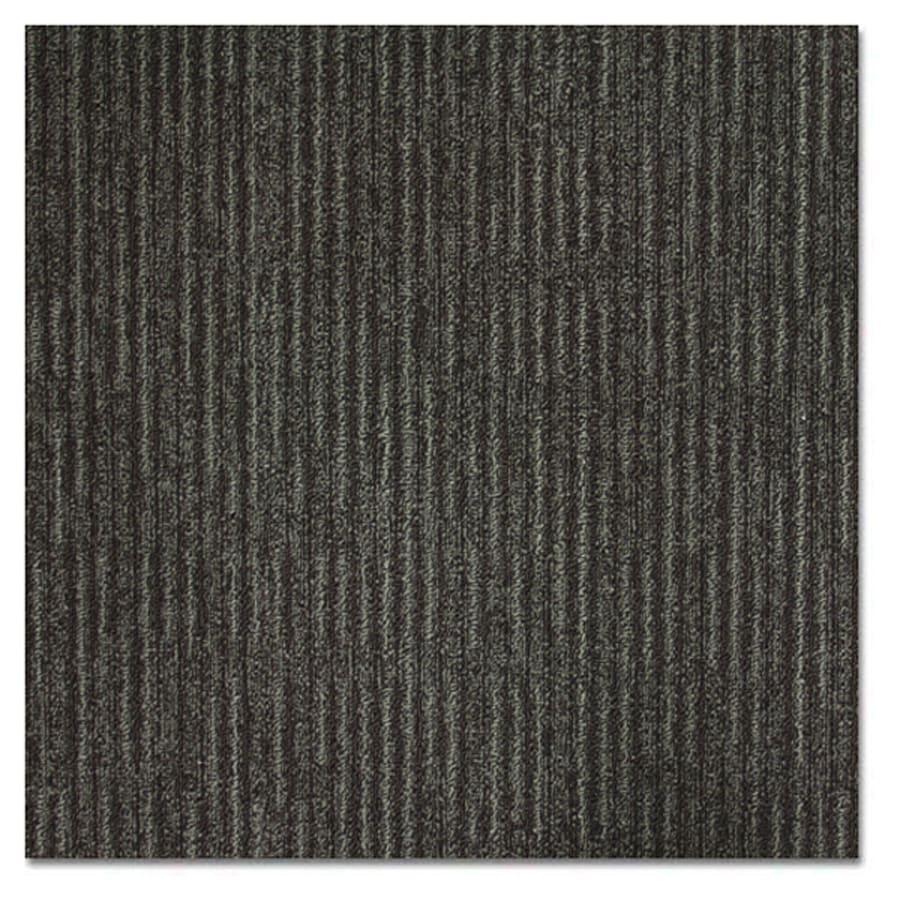 Kraus 20-Pack 19.625-in x 19.625-in Lead Textured Glue-Down Carpet Tile