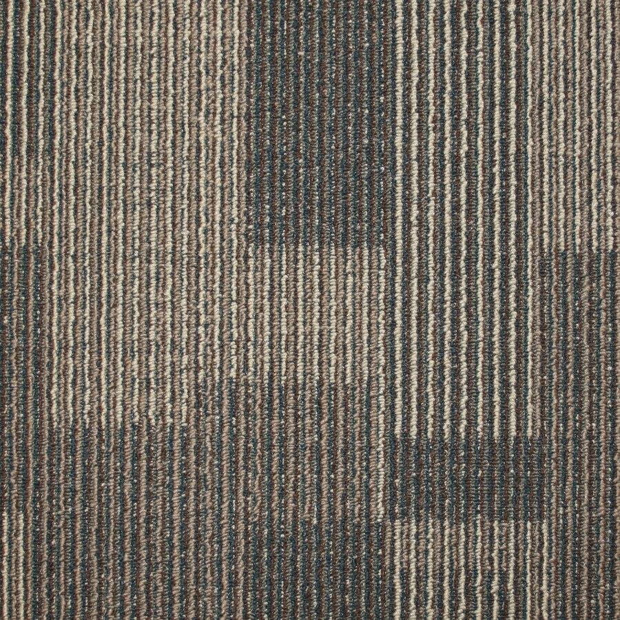 Kraus 20-Pack 19.7-in x 19.7-in Even Keel Textured Glue-Down Carpet Tile