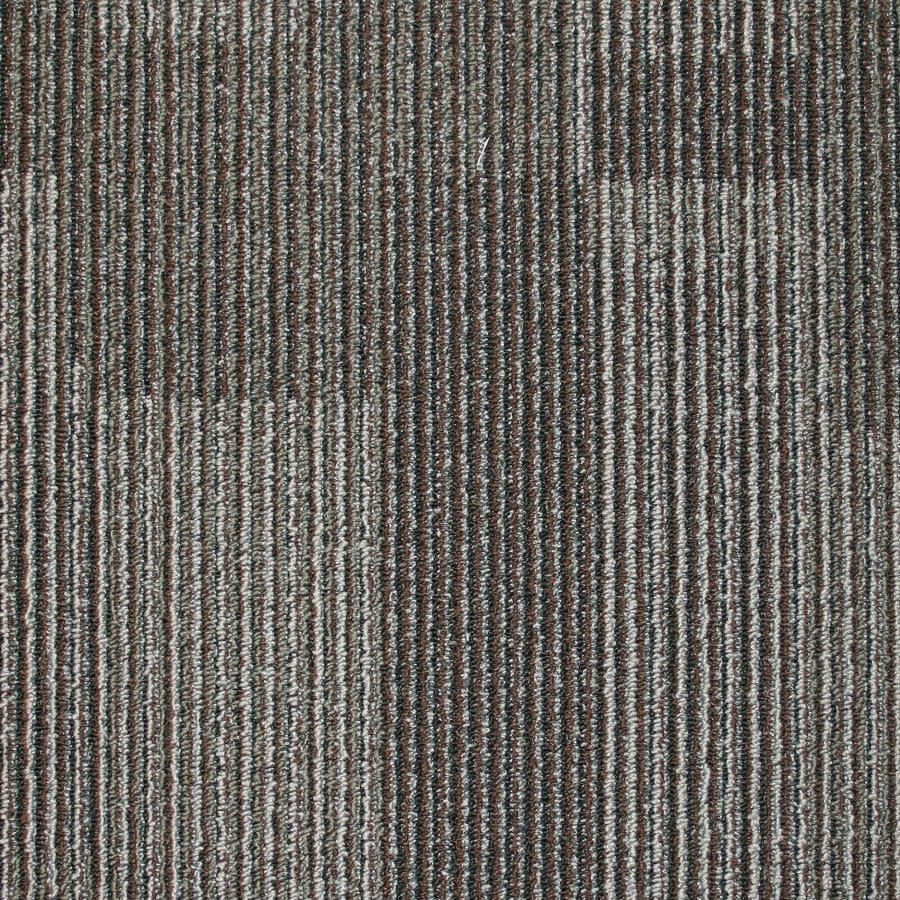 Kraus 20-Pack 19.7-in x 19.7-in Ballast Textured Glue-Down Carpet Tile
