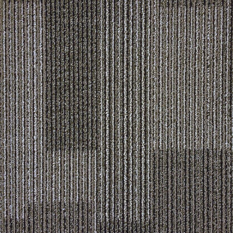 Shop Kraus 20-Pack 19.7-in x 19.7-in Battleship Textured Glue-Down Carpet Tile at Lowes.com