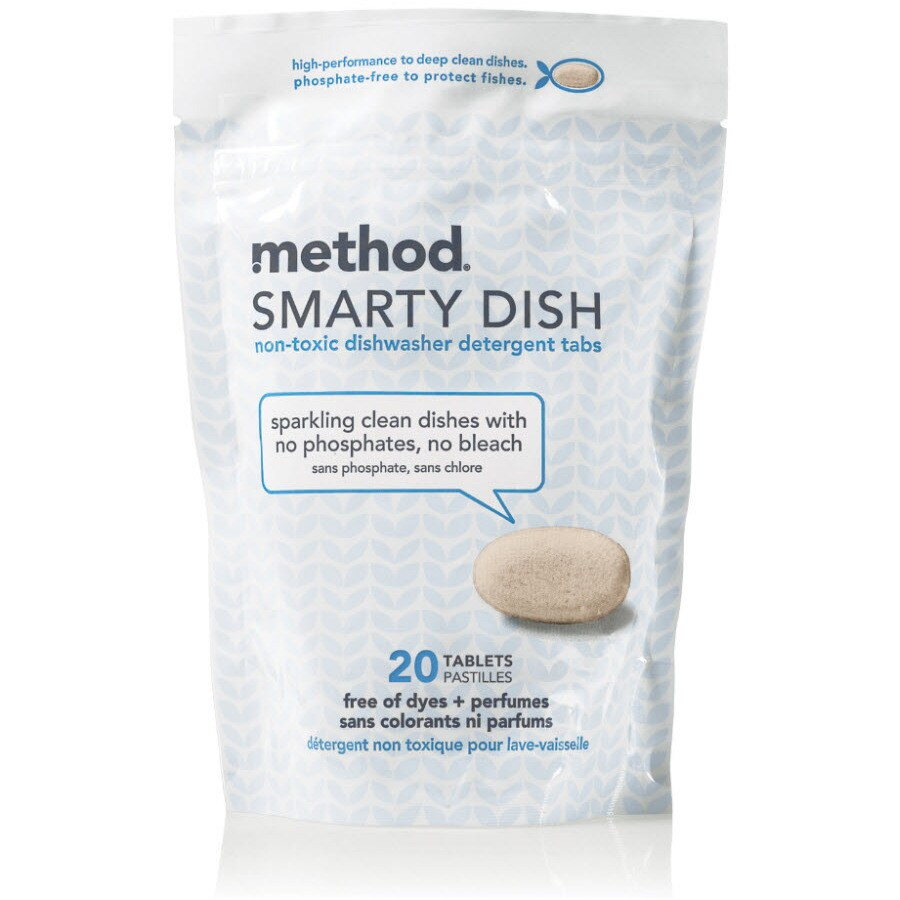method Smarty Dish 20-Count Dishwasher Detergent