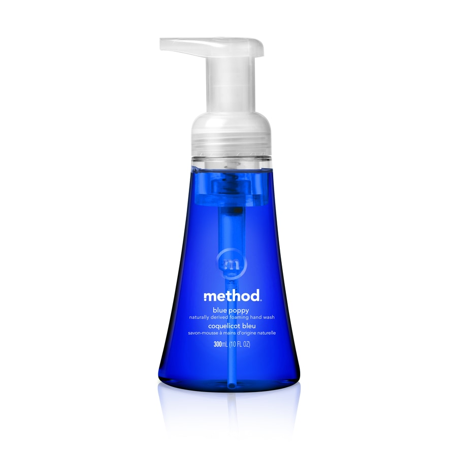 method 10-oz Foaming Blue Poppy Hand Soap