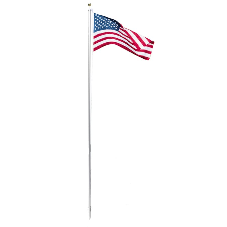Independence Flag 5-ft W x 3-ft H American Embroidered Flag