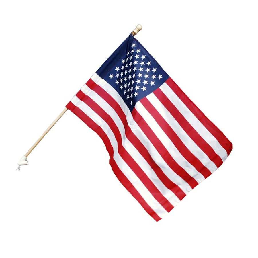 Shop Independence Flag 4 Ft W X 2 5 Ft H American Flag At