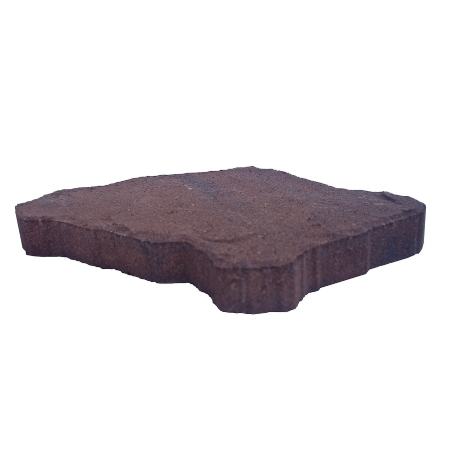 Brown/Charcoal Blend Concrete Patio Stone (Common: 18-in x 12-in; Actual: 18-in x 12-in)