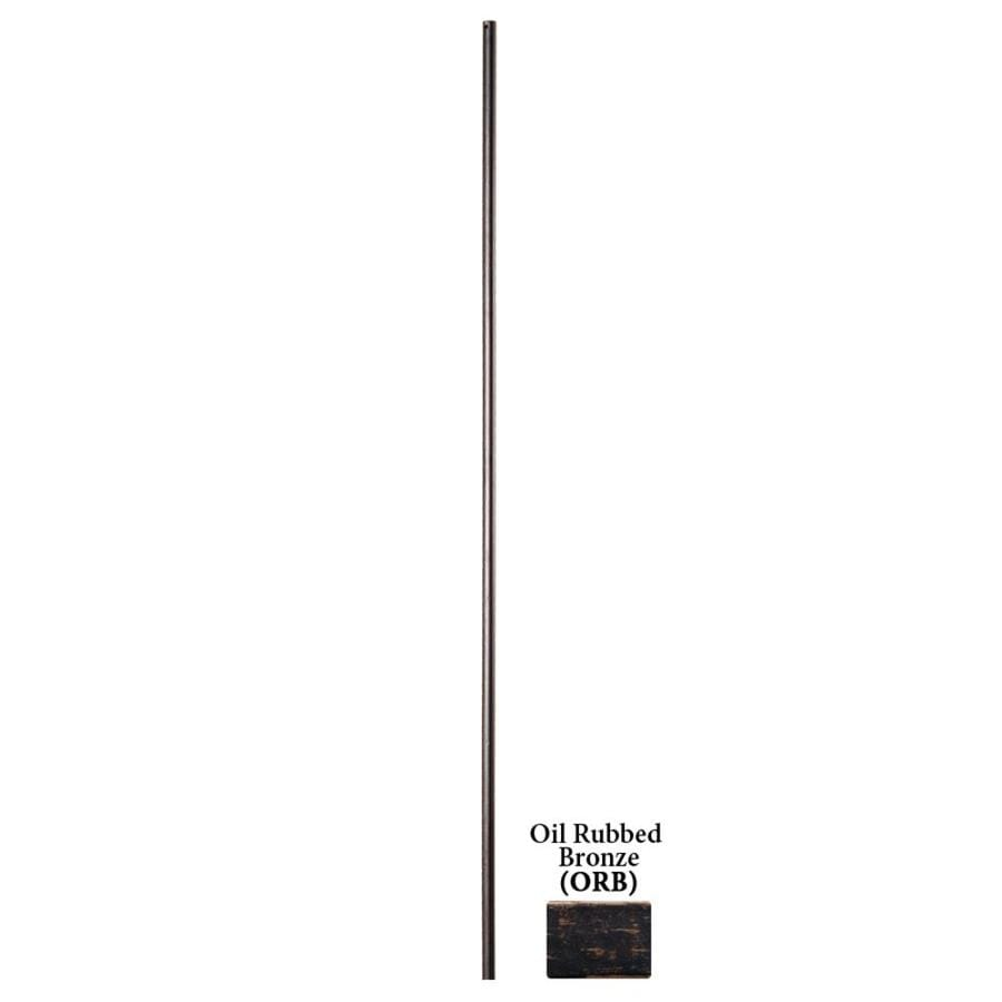 House of Forgings Solid 44-in Oil Rubbed Bronze Wrought Iron Round Stair Baluster