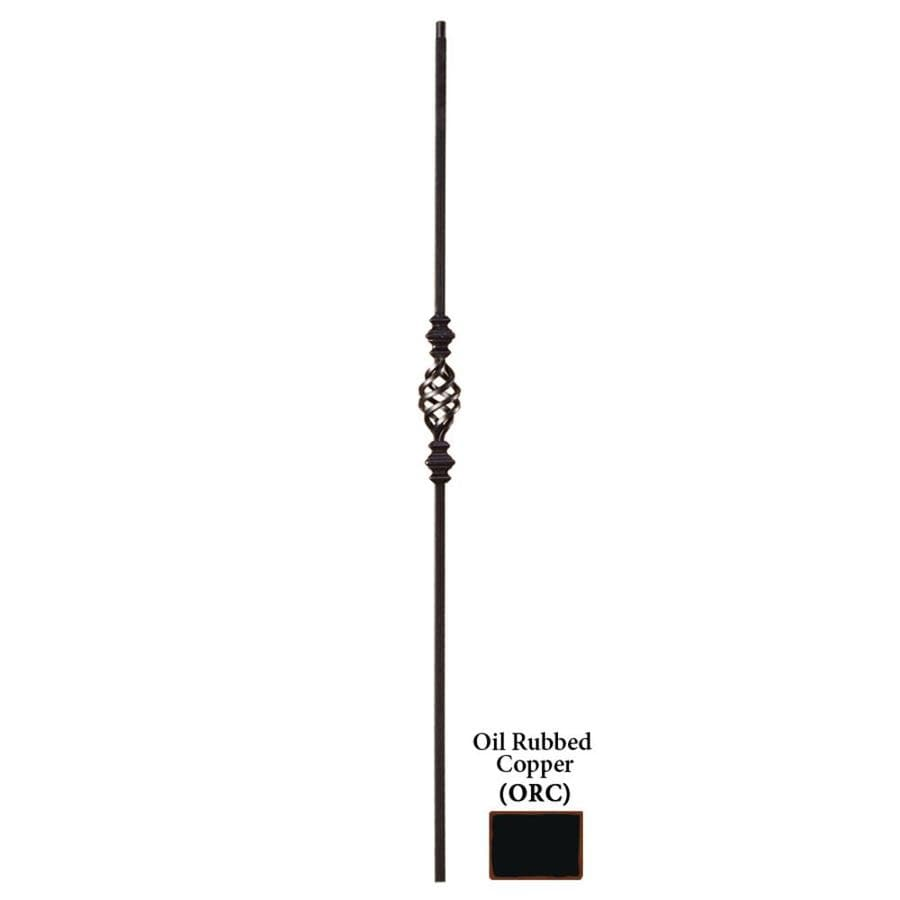 House of Forgings Solid 44-in Oil Rubbed Copper Wrought Iron Versatile Stair Baluster