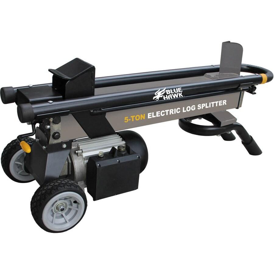 Blue Hawk 5-Ton Electric Log Splitter