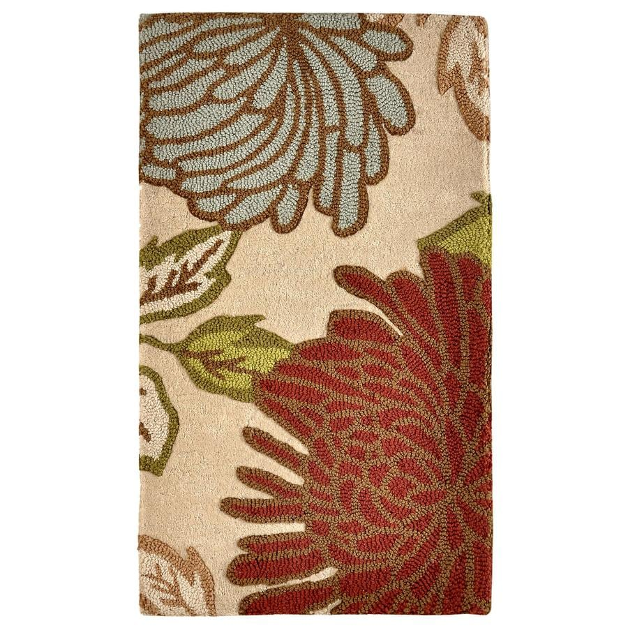 allen + roth Rectangular Indoor Tufted Throw Rug (Common: 2 x 4; Actual: 27-in W x 45-in L)