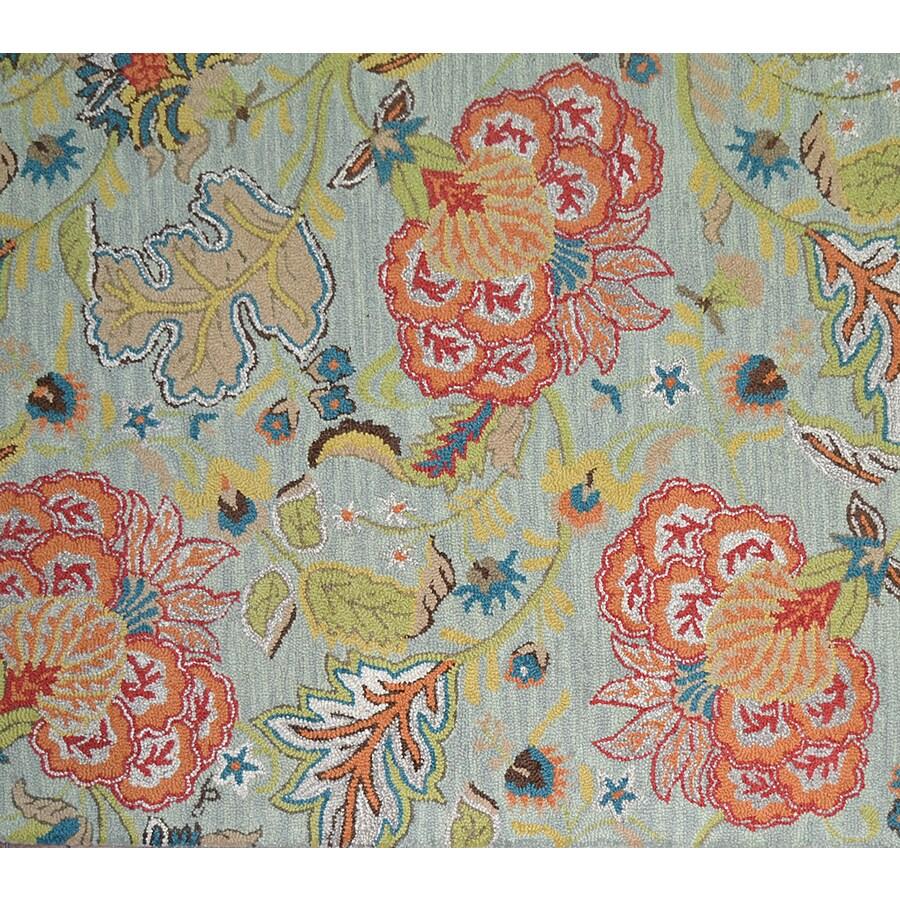 Shop Allen Roth Lendale Multicolor Normal Rectangular