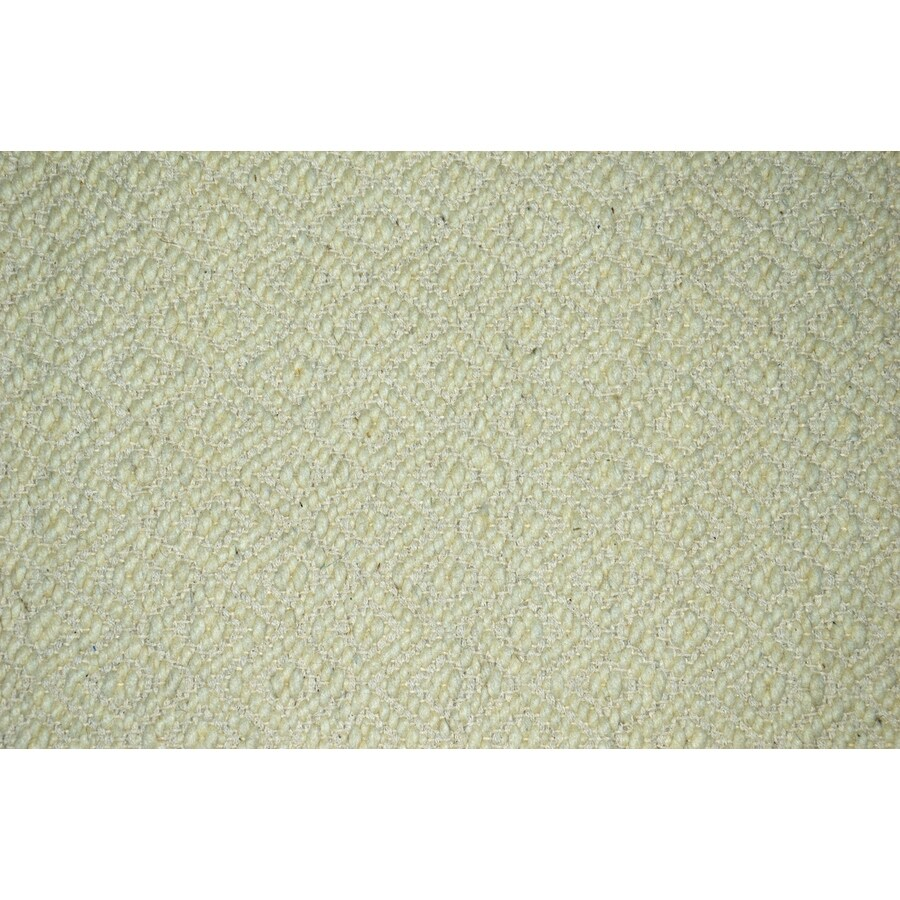 allen + roth Cream and Normal Rectangular Indoor Woven Area Rug (Common: 5 x 8; Actual: 60-in W x 96-in L)