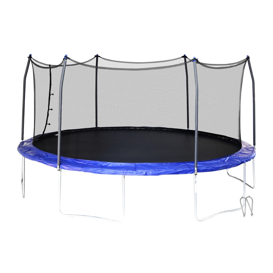 Shop Skywalker Skywalker 15 Ft Oval Blue Backyard