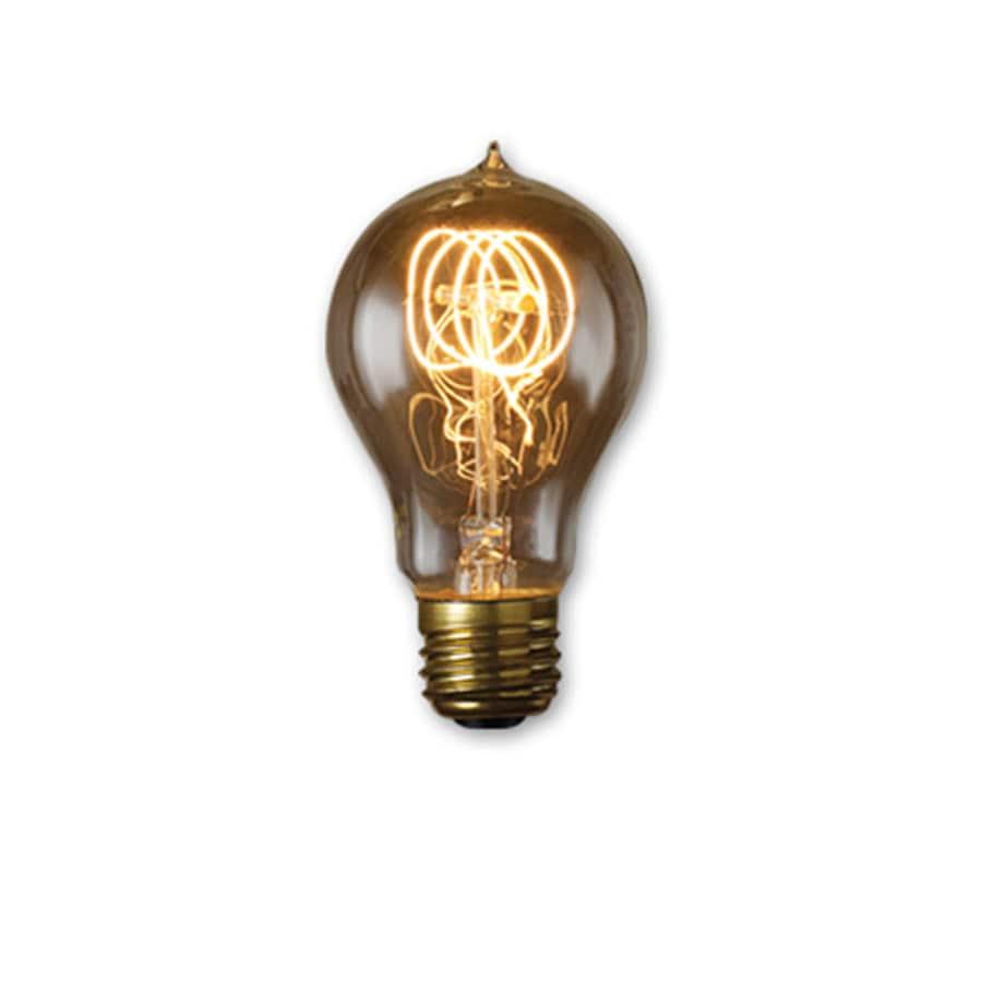 shop fashion lighting vintage collection 60 watt medium. Black Bedroom Furniture Sets. Home Design Ideas