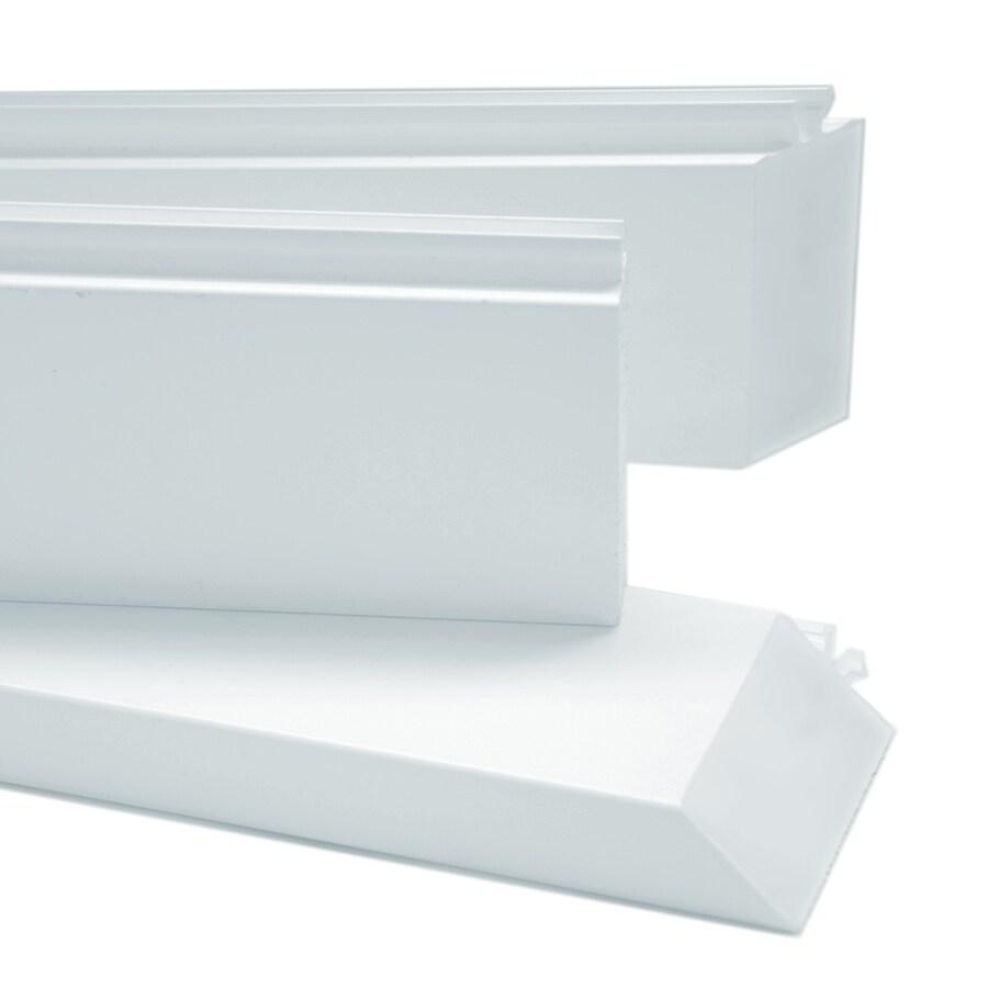 Shop securaseal 6 ft white patio door jamb extender kit at for Door jamb kit