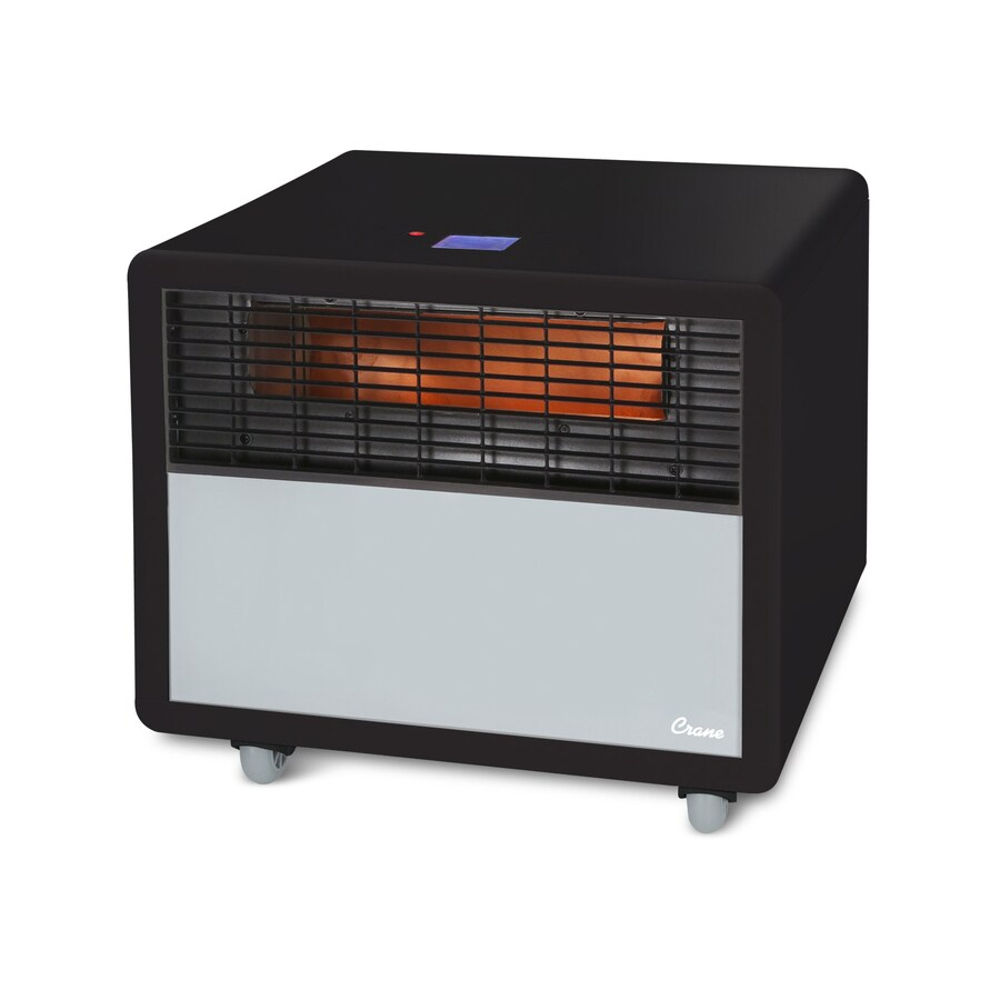 Crane 5118.21-BTU Infrared Quartz Compact Personal Electric Space Heater with Thermostat with Energy Saving Setting