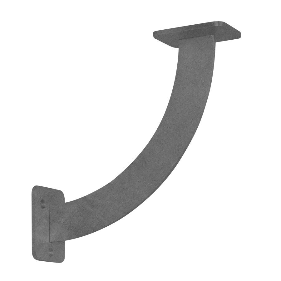 Federal Brace San Marino 11-in x 3-in x 11-in Plain Steel Countertop Support Bracket