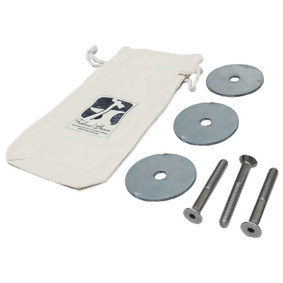 Federal Brace 2-in x 6-in x 10-in Stainless Steel Fastener Kit