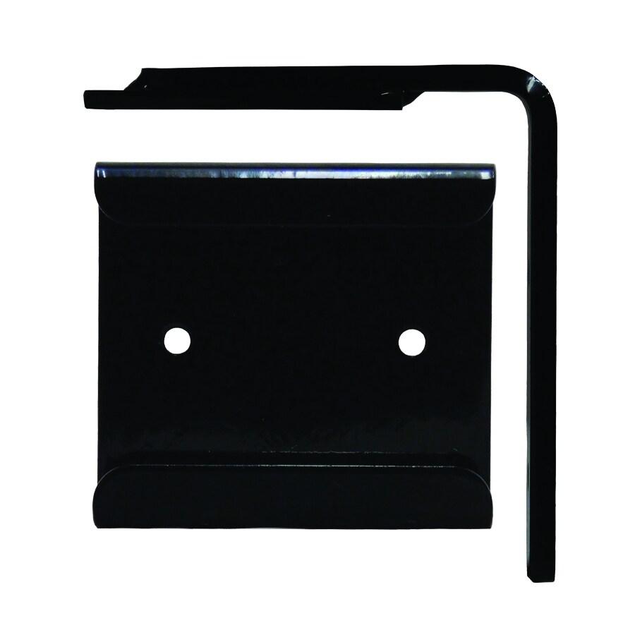 Federal Brace Wood Corbel Converter Mounting Bracket 4-in x 1-in x 5-in Black Countertop Support Bracket