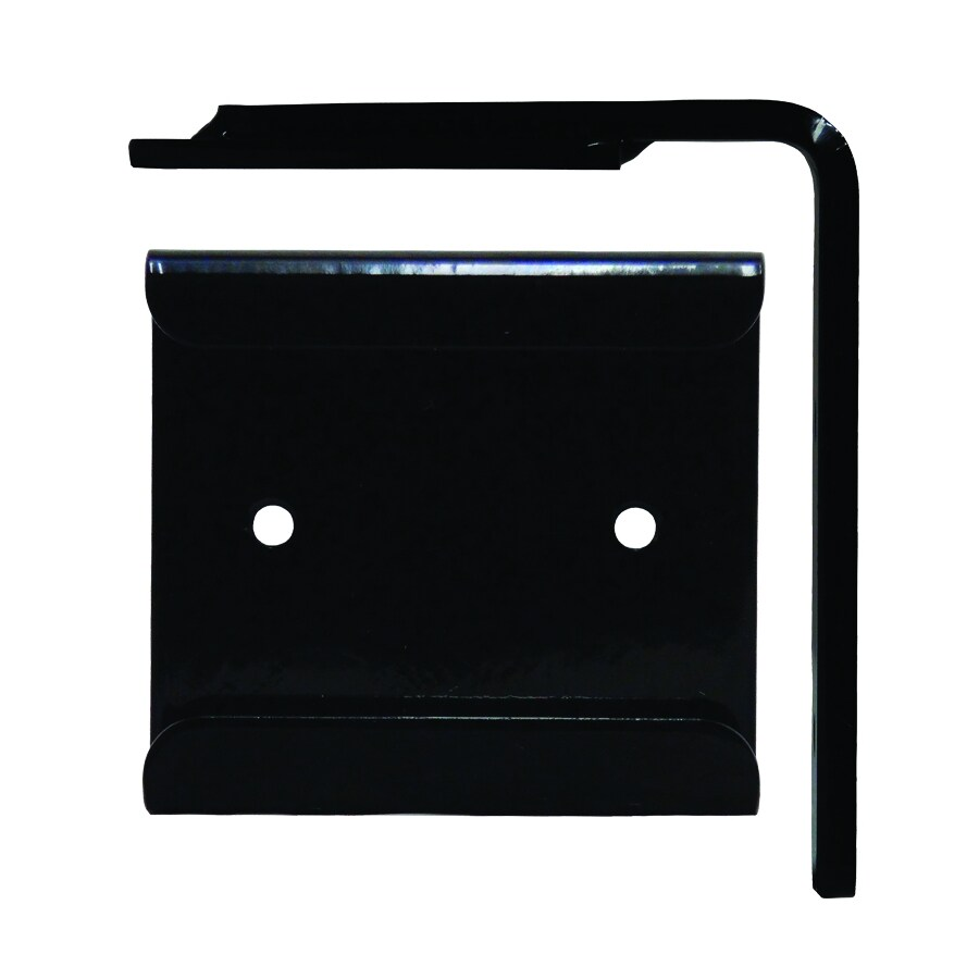 Federal Brace Wood Corbel Converter Mounting Bracket 6.5-in x 1-in x 7-in Black Countertop Support Bracket