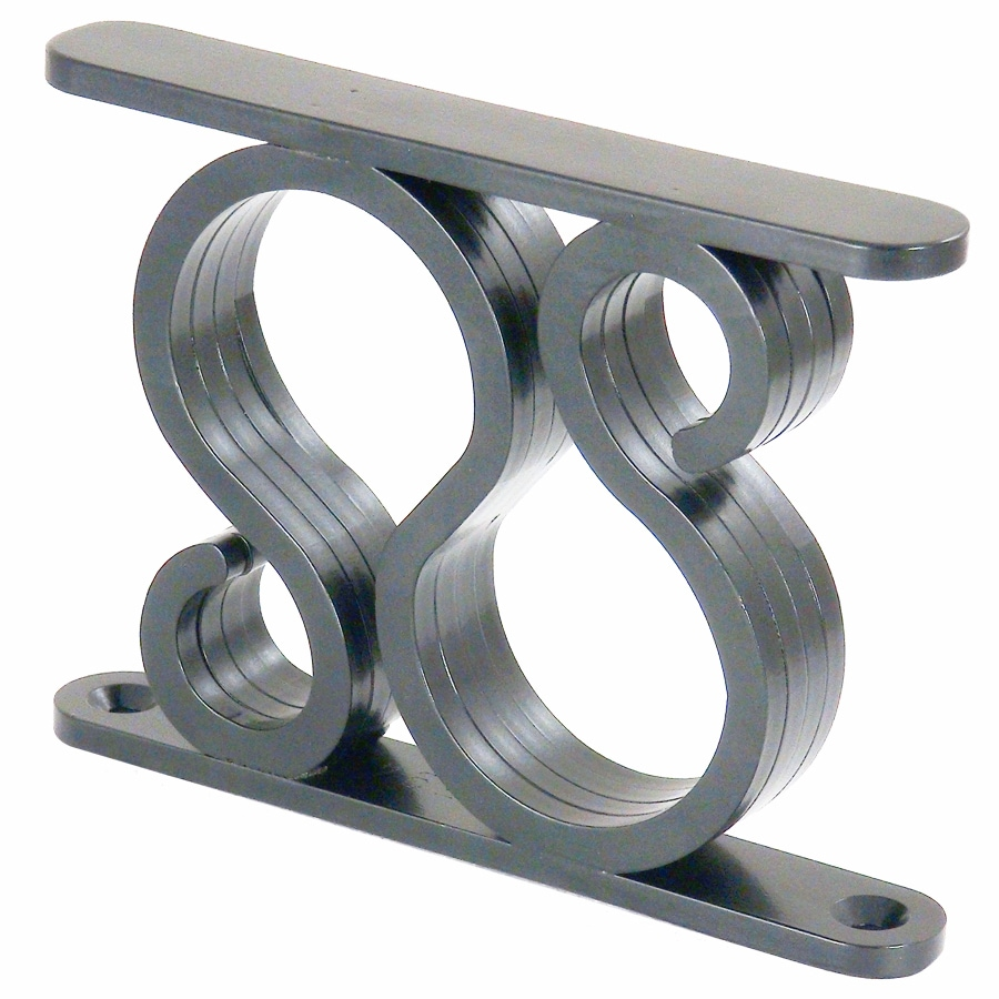 Federal Brace Thames 5-in x 1-in x 7-in Coated Countertop Support Bracket