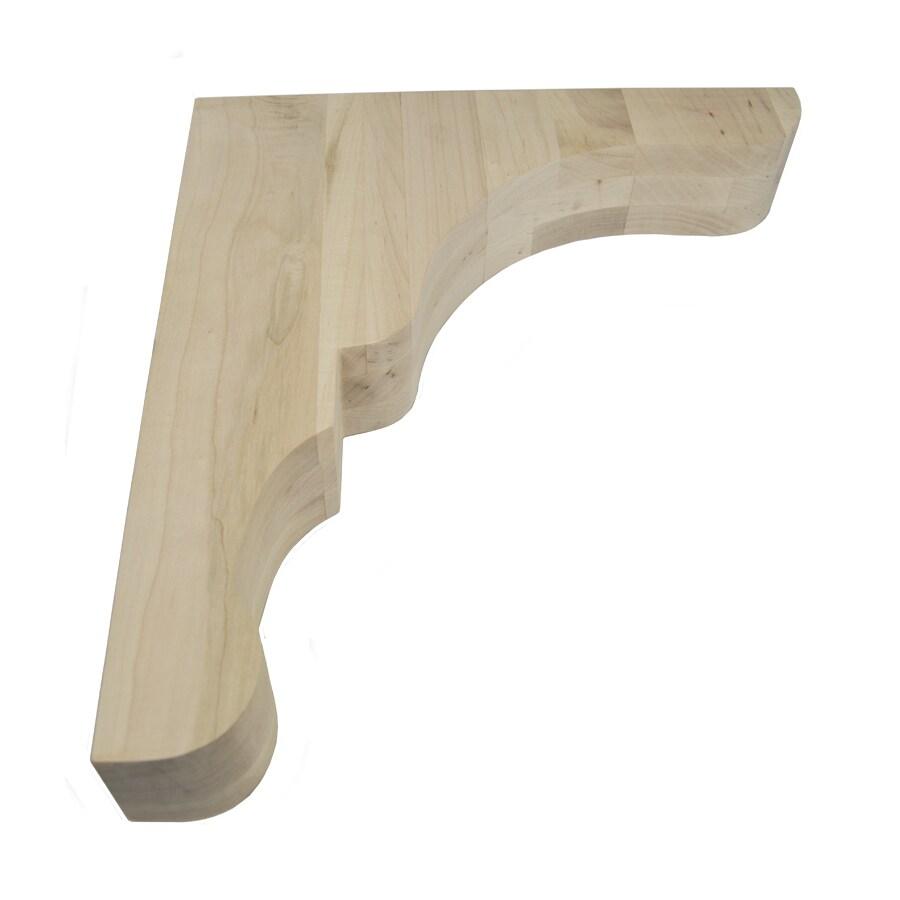 Federal Brace Monique Range Hood Corbel Kit 18-in x 3-in x 16-in Clear Countertop Support Bracket