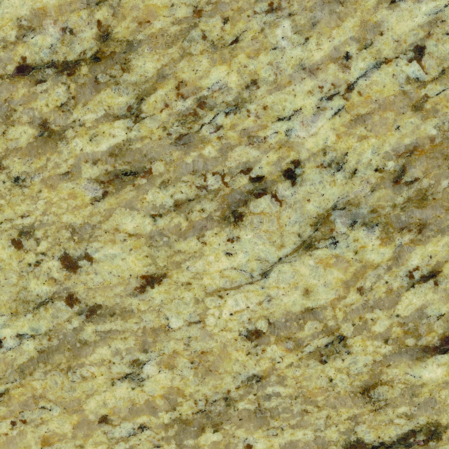 Shop sensa tanami granite kitchen countertop sample at for Lowes countertops