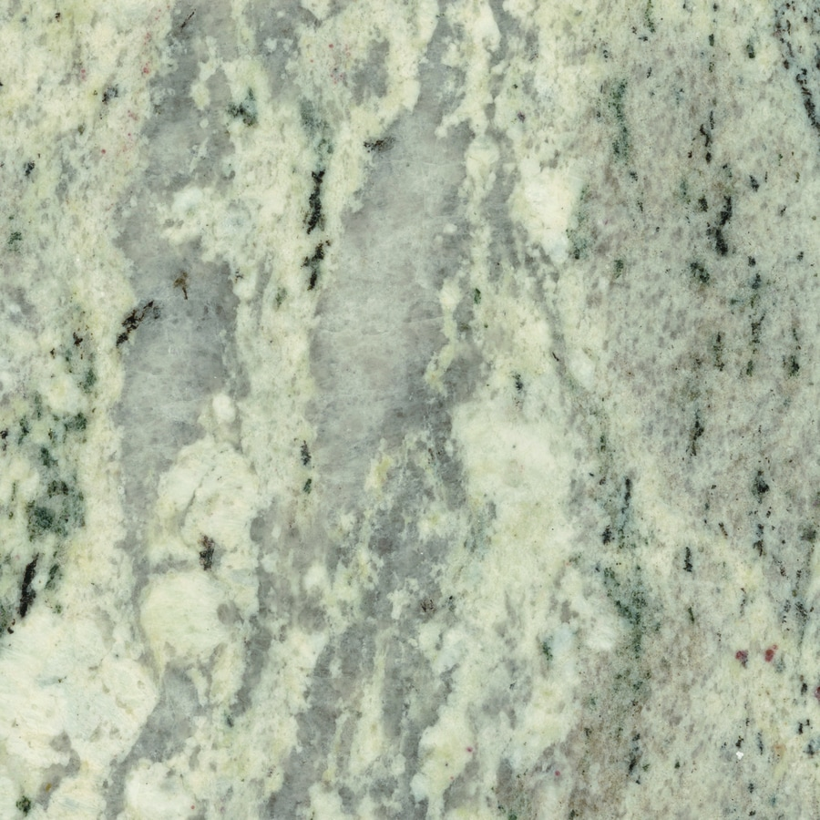 SenSa 2-in W x 3-in L Silver Silk Granite Kitchen Countertop Sample