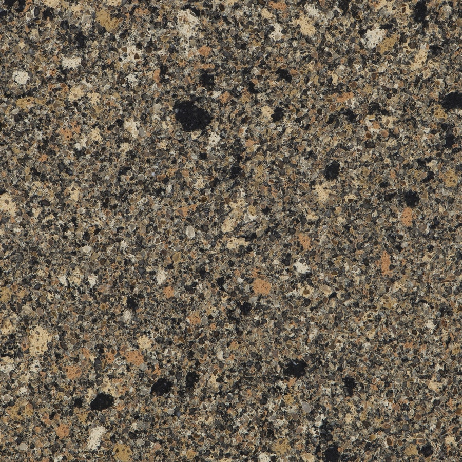 Shop Silestone Black Canyon Quartz Kitchen Countertop