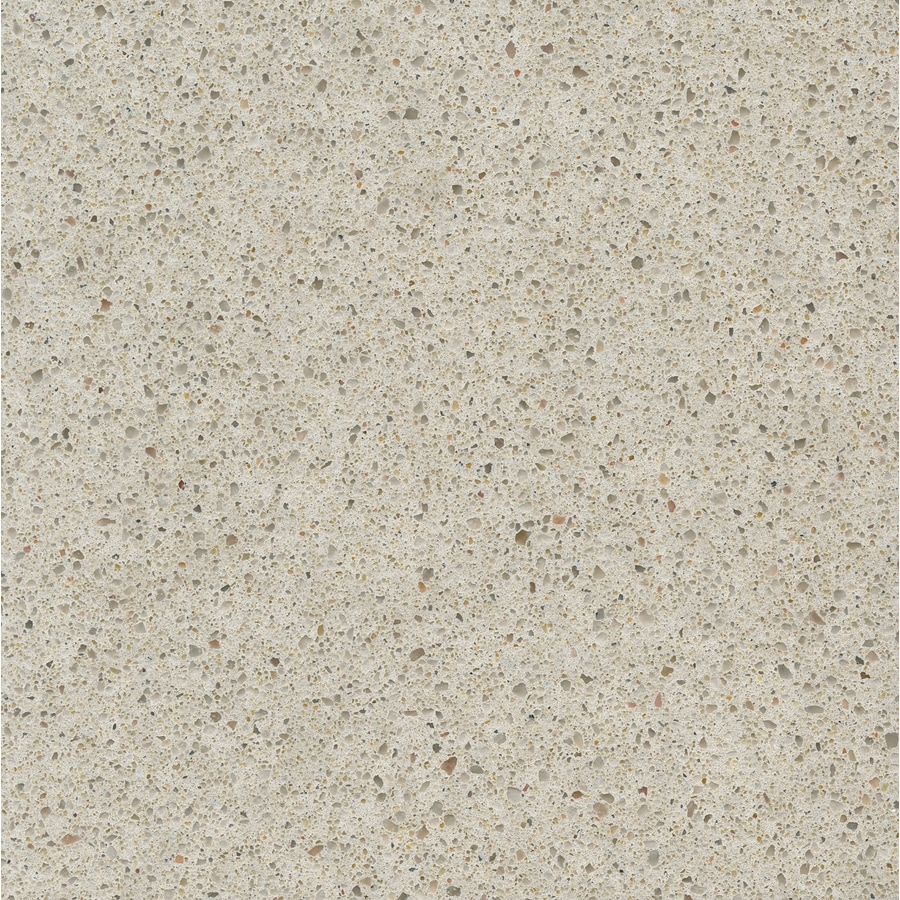 Shop silestone blanco city quartz kitchen countertop for Lowes countertops