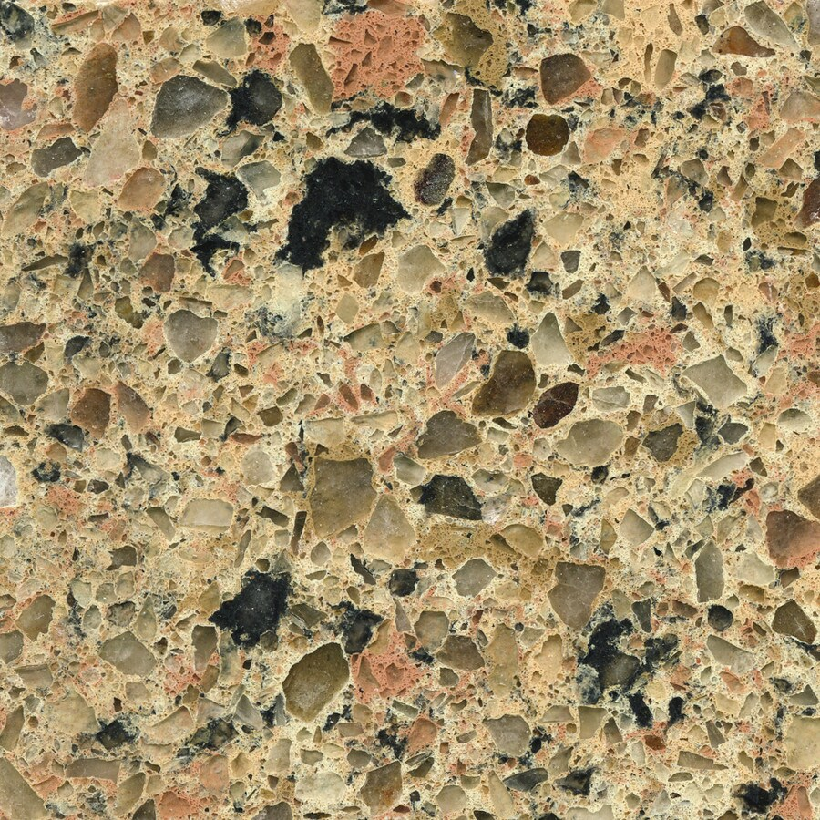 Shop Silestone Giallo Quarry Quartz Kitchen Countertop