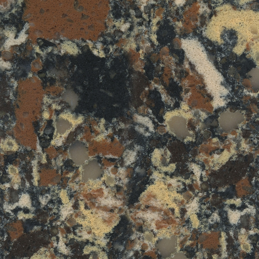 Shop silestone siridium quartz kitchen countertop sample for Silestone o granito