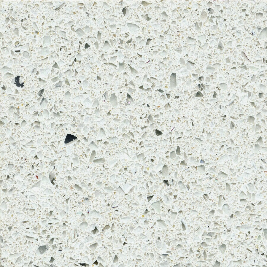 Shop silestone stellar snow quartz kitchen countertop Price of silestone