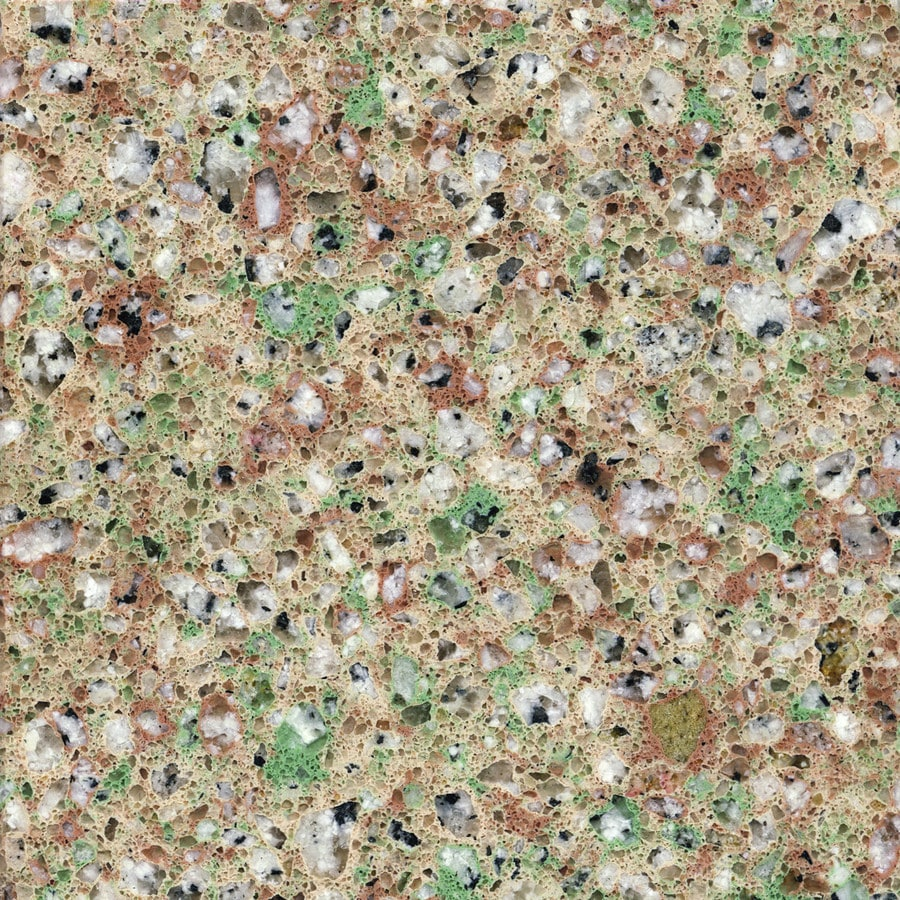 Shop silestone tea leaf quartz kitchen countertop sample Price of silestone