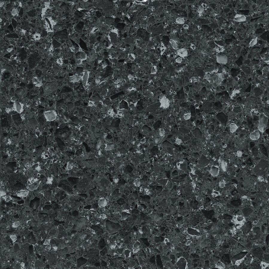 Silestone Pulsar Quartz Kitchen Countertop Sample At Lowes Com: Shop Silestone Zirconium Quartz Kitchen Countertop Sample