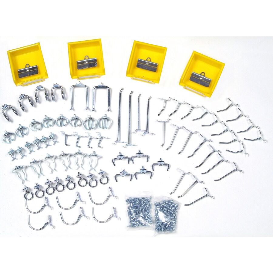 DuraHook 83-Pack Steel Assorted Pegboard Hooks