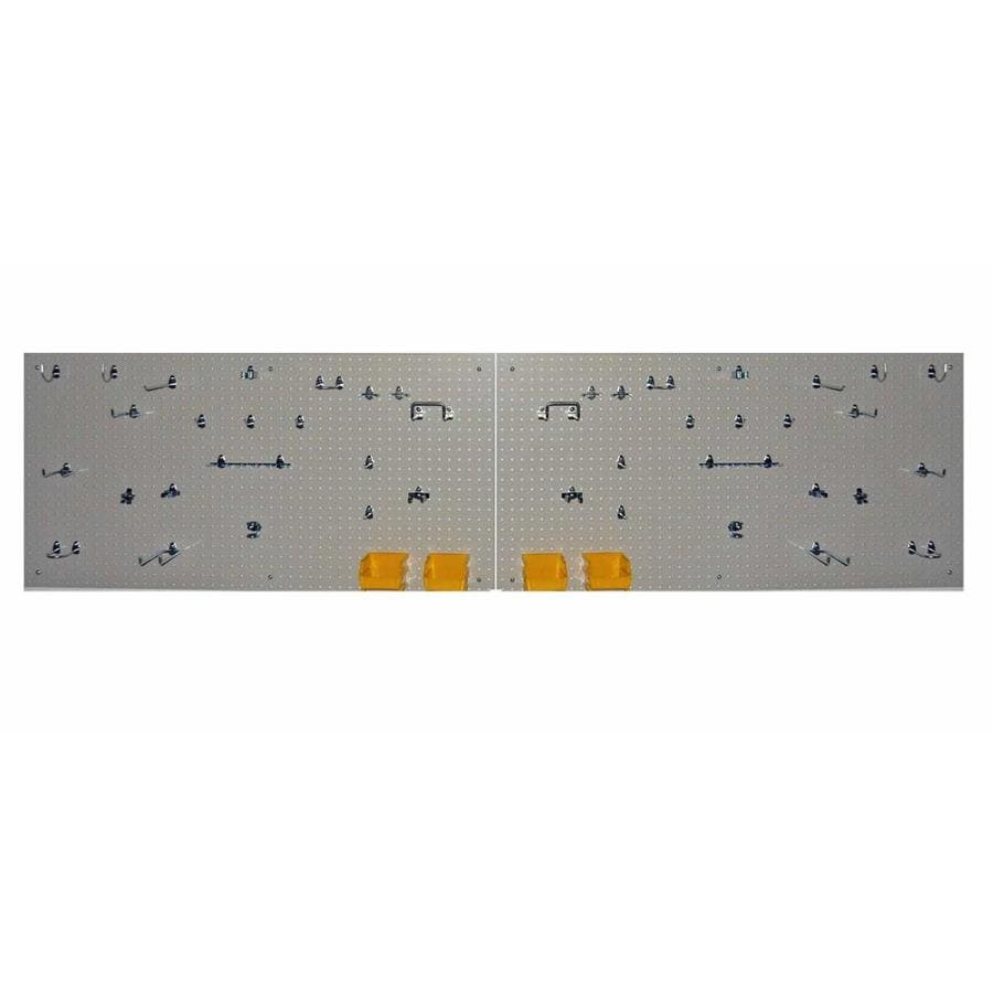 DuraBoard DuraBoard Polypropylene Pegboard (Common: 2-ft x 4-ft; Actual: 24-in x 2-in)