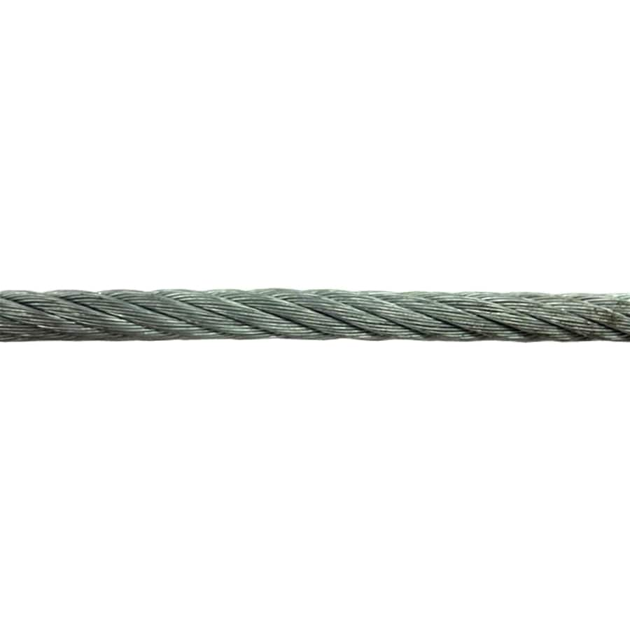 AWR 1-ft 1/4 Weldless Galvanized Metal Cable (By-the-Foot)