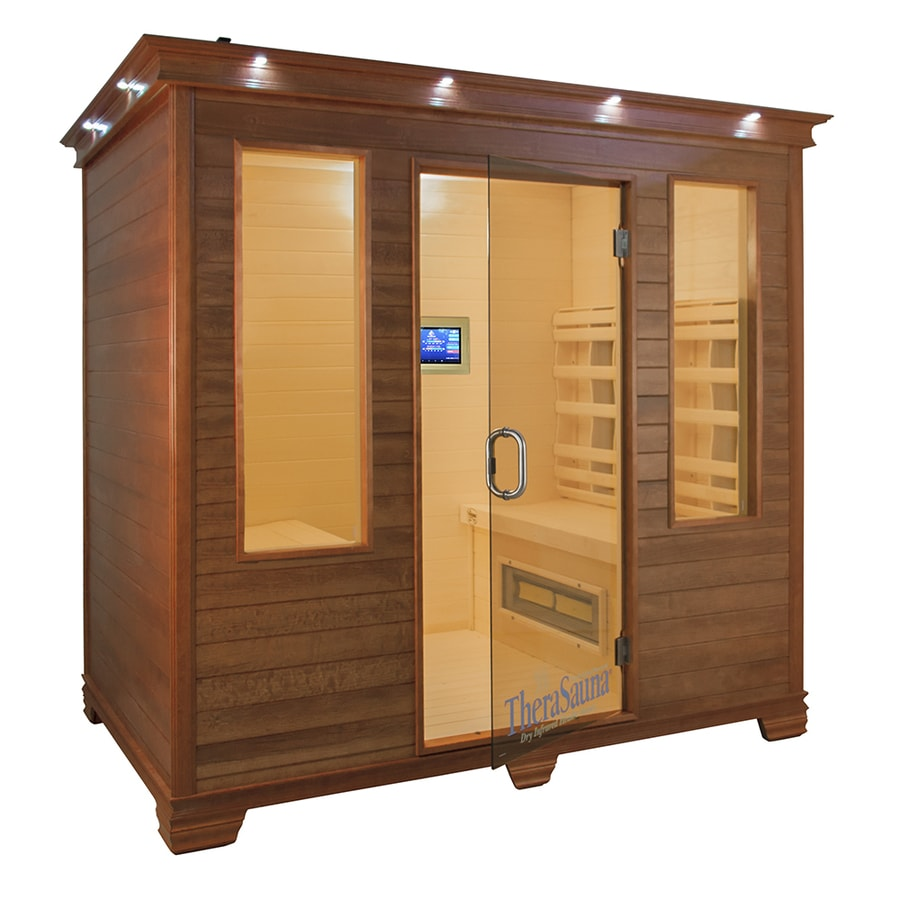TheraSauna 78-in H x 77-in W x 54-in D Indoor Sauna