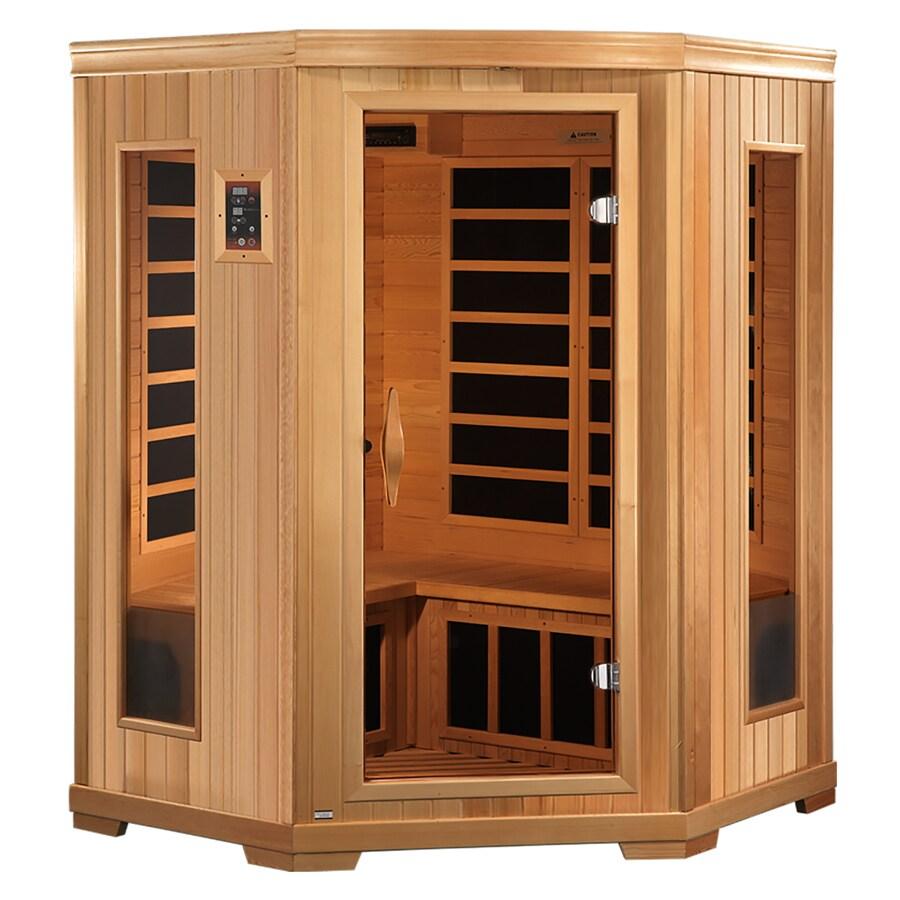Better Life 77-in H x 53-in W x 53-in D Hemlock Fir Wood Indoor Sauna