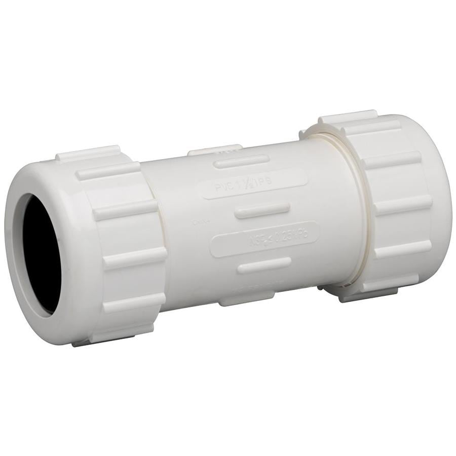 Shop Homewerks Worldwide 1 1 4 In Dia Pvc Sch 40 Coupling
