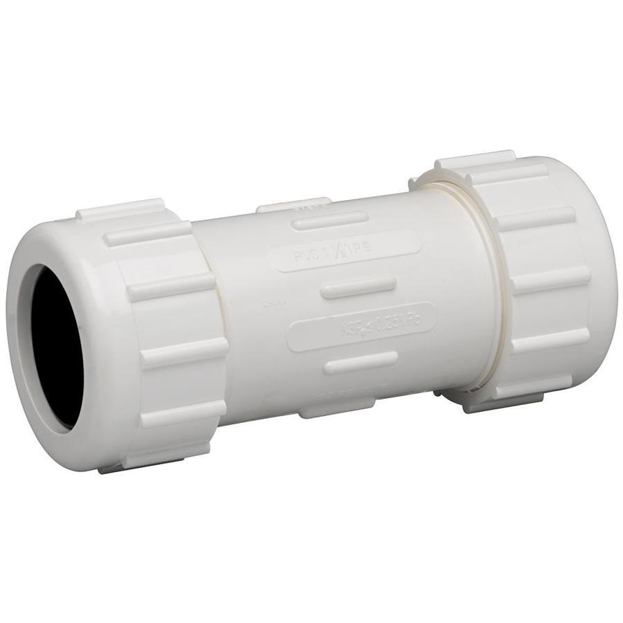 Homewerks Worldwide 1-1/2-in Dia PVC Sch 40 Coupling