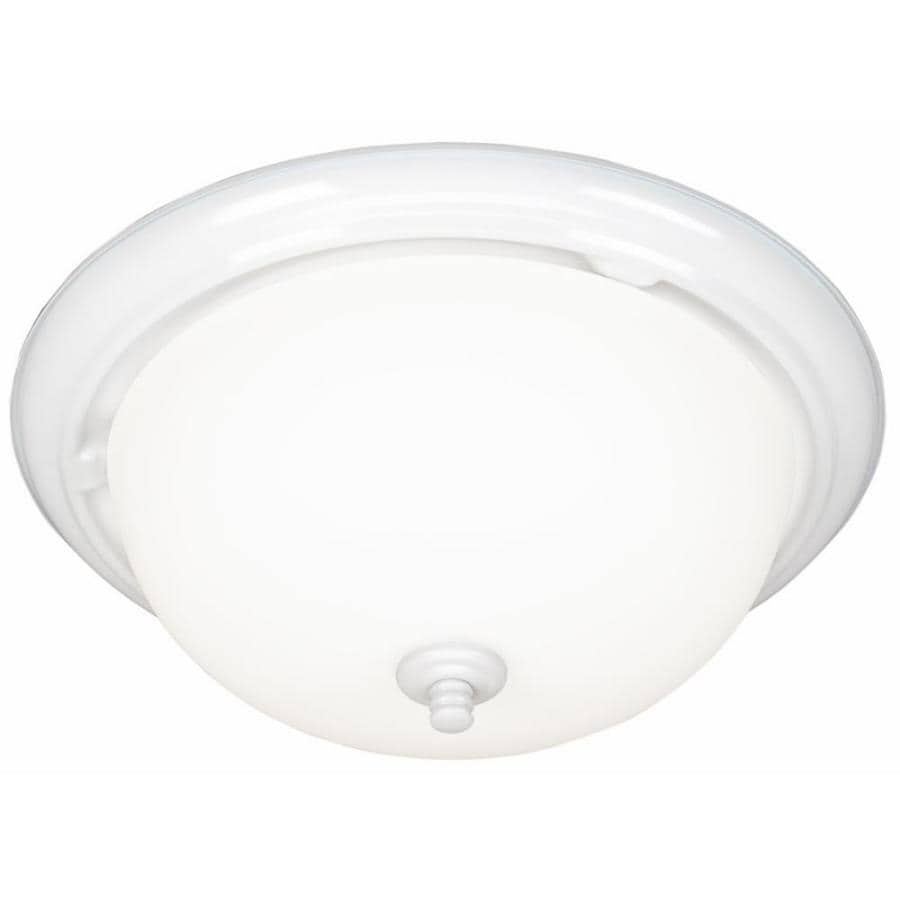 Harbor Breeze 2.0-Sone 70-CFM White Bathroom Fan with Light